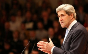 John Kerry makes veiled Keystone warning in first address