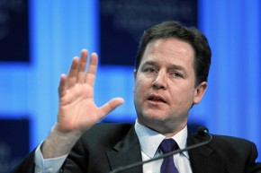 Nick Clegg: UK government legally bound to be greenest ever