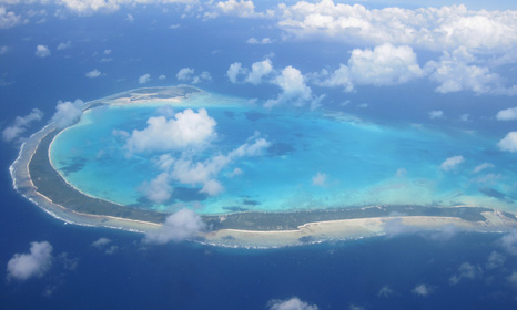 LDC member Kiribati faces having to evacuate some of its low-lying islands as a result of rising sea levels