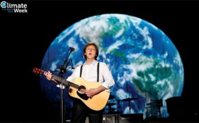 Paul McCartney backs Climate Week 2013