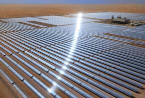 Masdar unveils 100MW solar thermal power plant