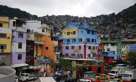 Rio's favelas set climate adaptation example