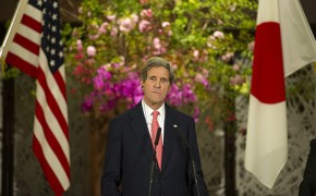 Kerry pushes US climate ambition in Japan