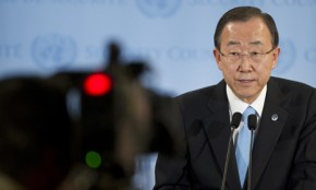 Ban Ki-moon: World on course to run out of water