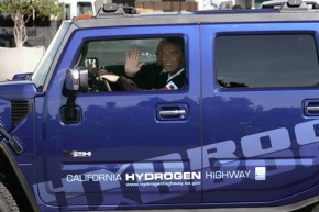 Arnie: Environmentalists should learn from my eco Hummers