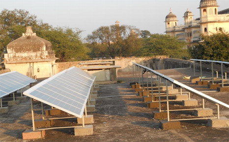 Rooftop solar panels are part of the answer to frequent blackouts in northern India (Source: MNRE)