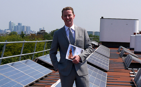 Greg Barker was an advocate for renewable energy within government (Source: DECC)