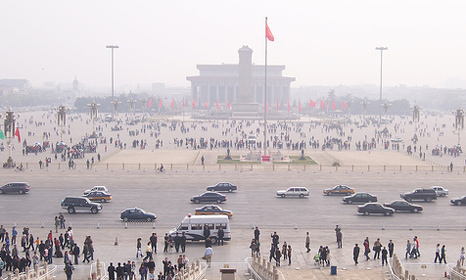 Beijing smog - air pollution was behind one in eight deaths worldwide in 2012 (Pic: Mckay savage)