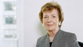 Mary Robinson: climate change is a 'serious issue of human rights'