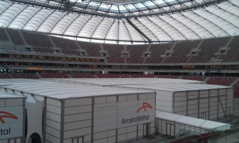 This year's UN climate talks will take place in Warsaw's National Stadium, from November 11-22