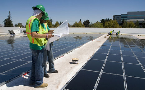 Walmart store. (Pic: The Solar Industry)
