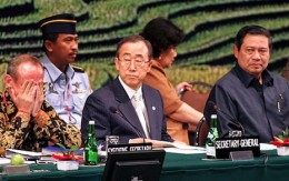 The path to Paris will be tough, agree UN climate chiefs past and present