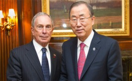 Ban Ki-moon selects Bloomberg as cities and climate change envoy