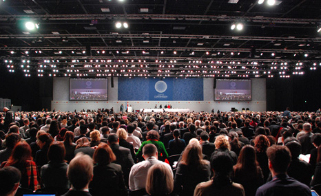 The 15th Conference of the Parties to the UN Framework Convention on Climate Change, Copenhagen (Pic: UNFCCC)