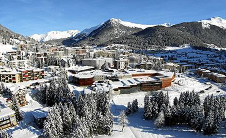 The Swiss town of Davos hosts next week's World Economic Forum (Pic: WEF)