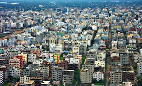 Dhaka is the city with the highest population growth in the world (Source: Flickr/Sandeep Menon)