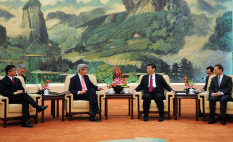 Kerry met with Chinese President Xi on Friday (Pic: State Department)