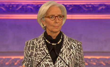"Christine Lagarde: environmental damage is ""mission critical"" to the IMF"
