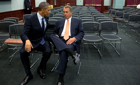 Ambitious climate policies could face stiff opposition from Republicans in Congress led by John Boehner (R)