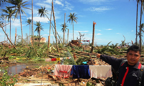 Typhoon Bopha left around 600 dead and thousands homeless on the Philippines in 2012 (Pic: Sonny M/Flickr)