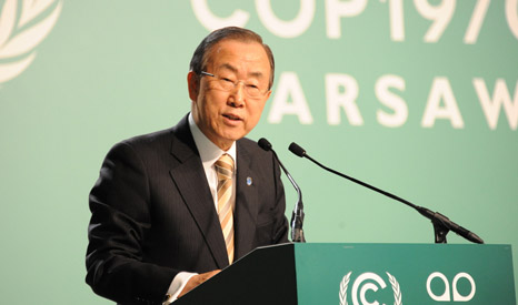 Negotiators hope Ban Ki-moon's climate summit in September will see new emission and financial pledges delivered(Pic: UNFCCC)
