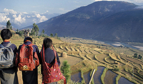 Countries vulnerable to climate impacts, like Bhutan, can expect to benefit from the new fund (Pic: World Bank)