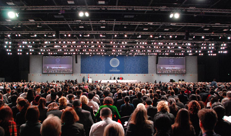 110 world leaders attended the Copenhagen climate summit, with the US, China, India, South Africa, Brazil and the EU leading talks (Pic: UNFCCC)