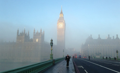 Air pollution is linked to cancer, heart disease and stroke deaths (Pic: Tim Montgomerie/Twitter)