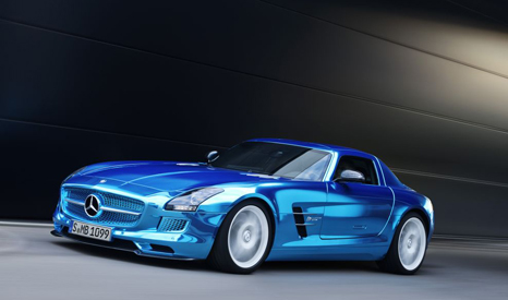 Leading car manufacturers like Mercedes are already investing millions in electric vehicles (Pic: Mercedez Benz)