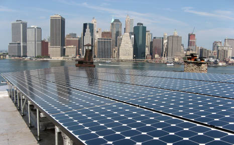 Solar Energy Systems installed this solar PV rooftop system in New York City (Pic: Aeon)