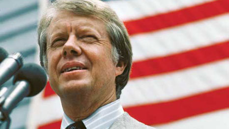 Jimmy Carter is the 39th President of the US
