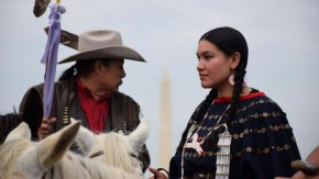 Cowboys and Indians unite on Capitol Hill in Keystone protest