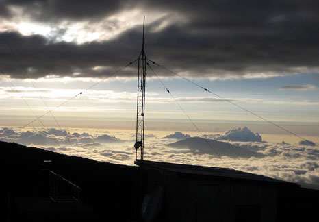 The Mauna Loa observatory will not register readings of below 400ppm after 2016 (Source: NOAA photo library)
