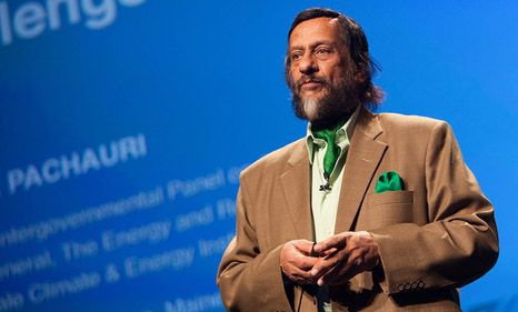 Rajendra Pachauri, chair of the Intergovernmental Panel on Climate Change (Pic: UN Photos)