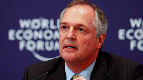 Unilever CEO Paul Polman at the World Economic Forum in 2011 (Source: World Economic Forum)