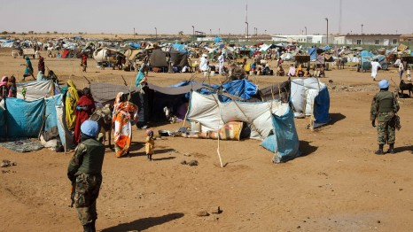 The current conflict in South Sudan has forced thousands to rely on UN camps for safety and food (Pic: UN Photos)