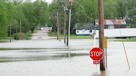 2011 flooding in Indiana, US (Pic: Paul/Flickr)