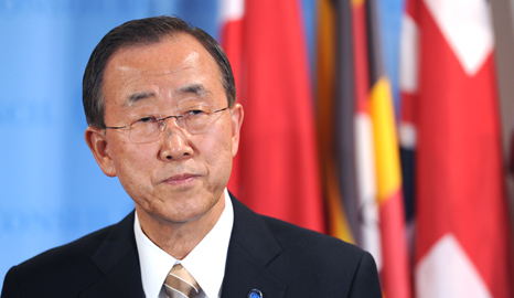 Ban-Ki Moon has made the SDGs a key goal for his tenure as Secretary General (Pic: UN Photos)