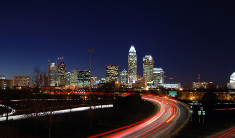 Charlotte, the largest city in North Carolina (Pic: James WIllamor/Flickr)