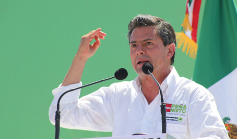 Mexico President Pena Nieto appears to have backed the country's green agenda (Pic:  Jesús Alberto Cano Veléz/Flickr)
