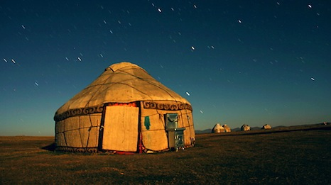 Traditional knowledge in Kyrgyzstan, like how to build a yurt, is transmitted by the elder generations (Pic: dwrawlinson/Flickr)