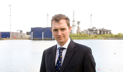 David TC Davies MP asked audience members to stop interrupting (Picture: