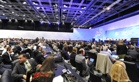 Decisions by the 195 parties to the UN climate talks need to be agreed by 'consensus' (Pic: UNFCCC/Flickr)
