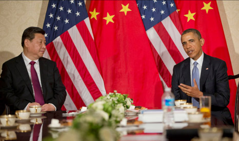 Presidents Xi and Obama represent the two countries with the highest carbon emissions (Pic: Flickr/US Embassy The Hague)