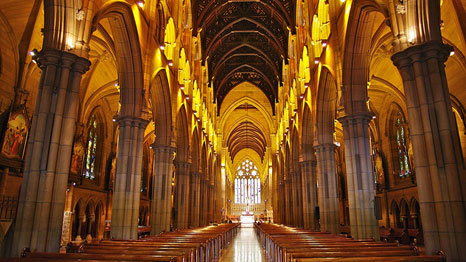 St Mary's Cathedral in Sydney, Australia. (Pic: Lludo/Flickr)