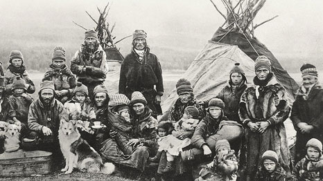 Nordic Sami people in the early 1900s - before they had to worry about climate change (Pic: Christopher Forster/Flickr)