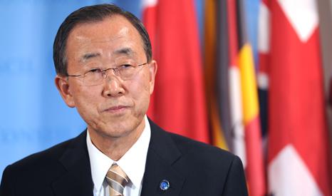 UN Secretary General Ban-Ki Moon (Pic: UN Photos)
