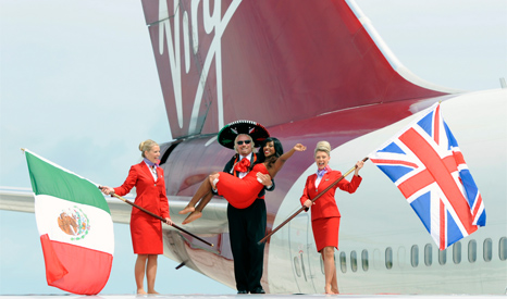 Airlines like Virgin are proud of their green credentials, but are also expanding rapidly (Pic: Virgin Airlines)