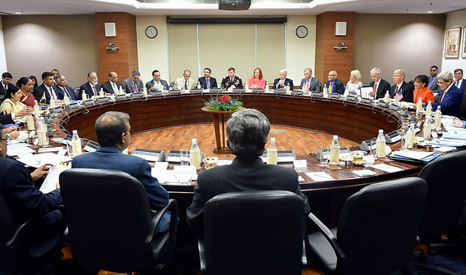Critical meeting: US and  Indian Delegations Meet in New Delhi for Plenary Session of Strategic Dialogue (Pic: State Department)