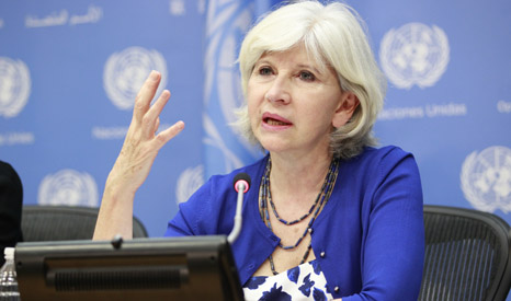 Laurence Tubiana, French Ambassador for climate negotiations (Pic: UN Photo/Paulo Filgueiras)